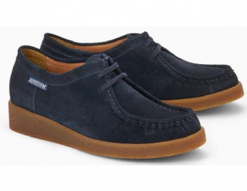 Mephisto 'CHRISTY' Navy Suede